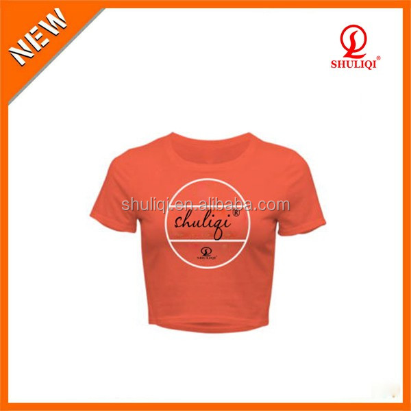 Yoga wear t-shirts custom, blank girls t shirts cheap wholesale offer existing free sample