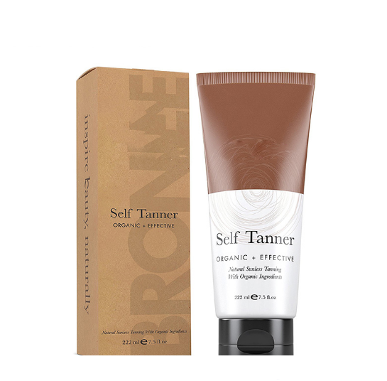 OEM Wholesale Fast Tan Skin Natural Bronzer Color Self Tanning Cream