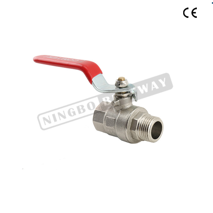 BWVA full welded excellent quality 1pc brass ball valve