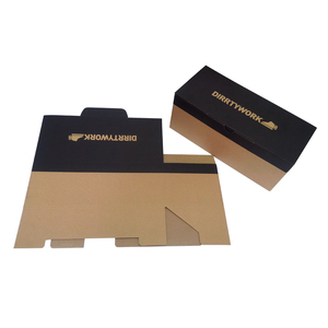 Custom 5-Ply Empty Folding Paper Packaging Corrugated Carton Box For Shoe