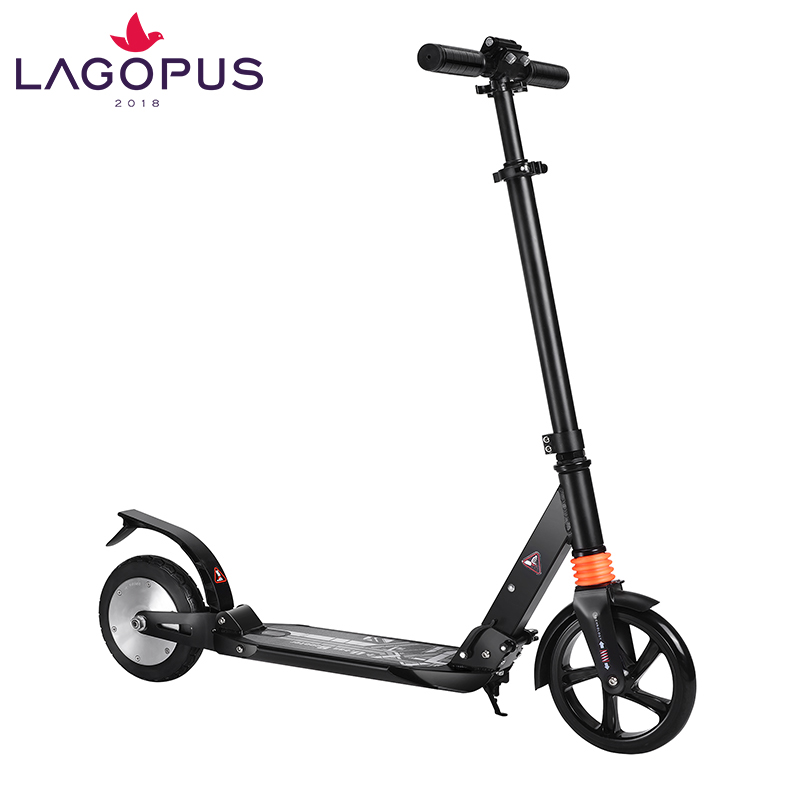 cheap electric foldable 2 wheels scooter for adults and children, Black;white