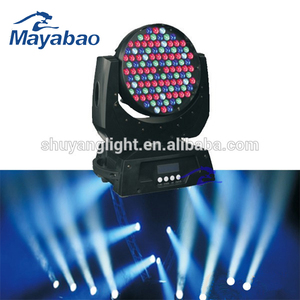Professional Stage Lighting Equipment RGBW 108 3w LED Moving Head Wash Lig