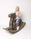 wholesale new style china modern baby chair rocking horse for children