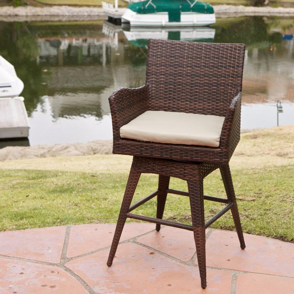 Venta al por mayor silla giratoria mimbre-Compre online los mejores ...