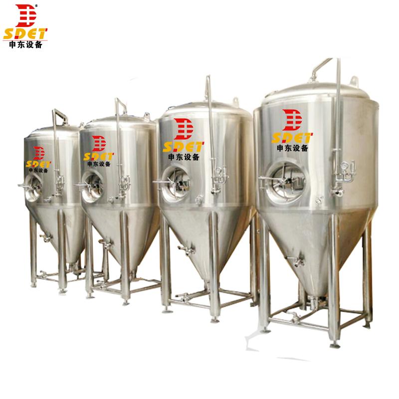 पीएलसी ऑटो नियंत्रण वाणिज्यिक खेतों में प्रयुक्त नैनो 5 बीबीएल बीयर माइक्रो शराब की भठ्ठी