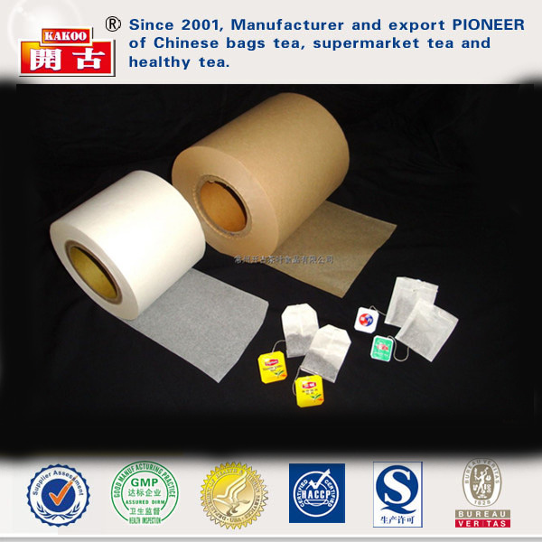 heat seal coffee filter paper teabag sealable filter paper in roll qualitative tea paper filter china