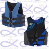 Neoprene life swimming jacket vest