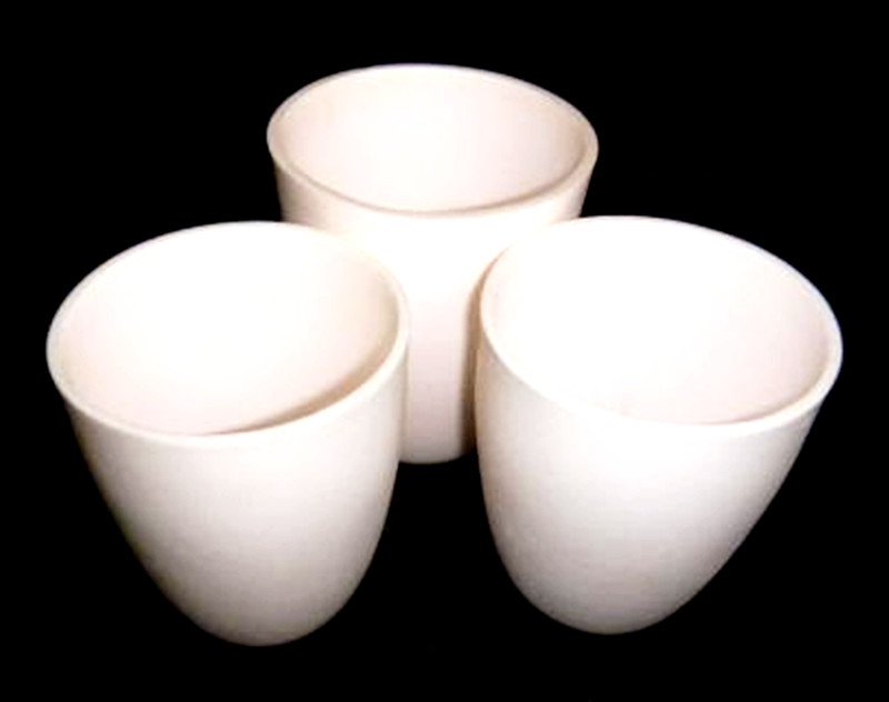 Top level hot selling alumina ceramic crucible for melting
