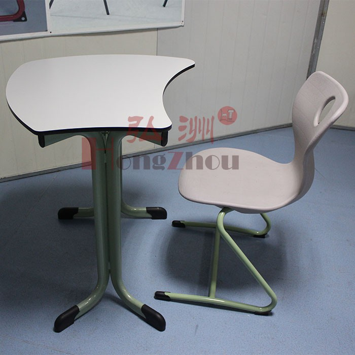 vintage classroom desk and chair for school study furniture