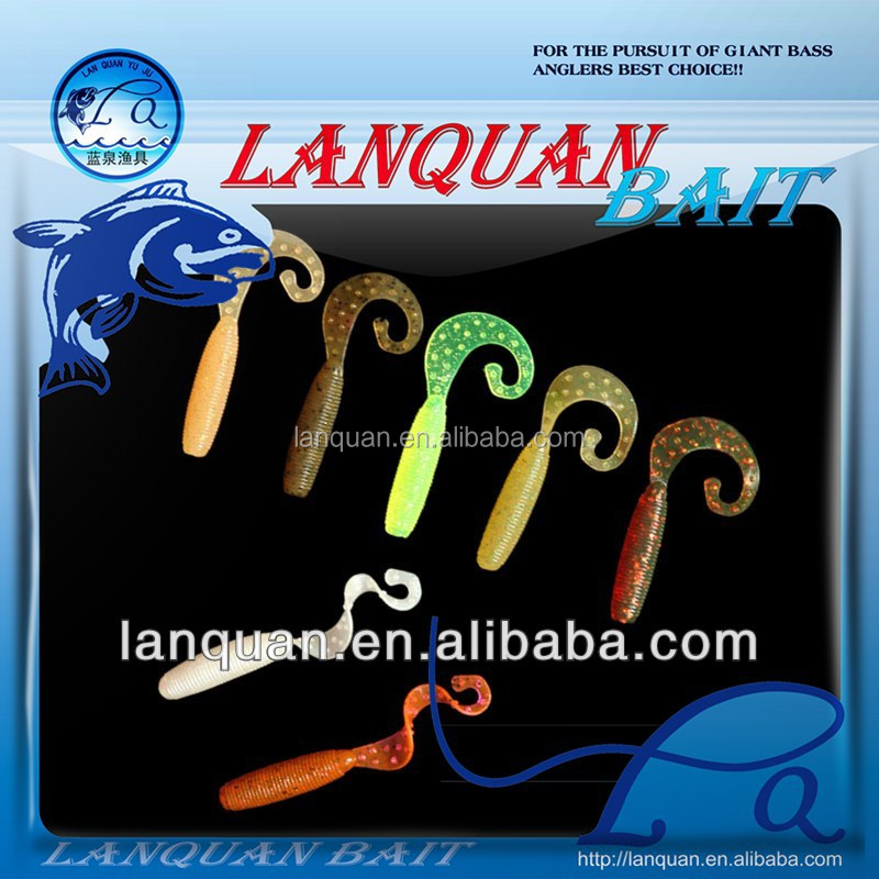 Wholesale LANQUAN high quality soft <strong>fishing</strong> lure-LQSL1317