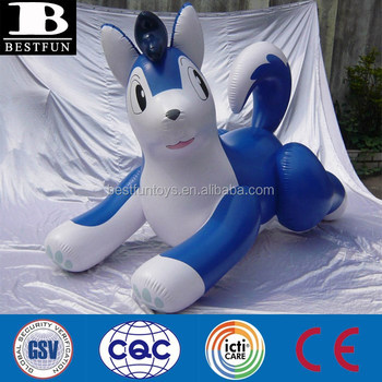 Jumbo Inflatable Puffy Float Big Dog Toys Display Custom Giant Animals  Advertising
