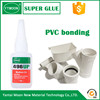 ethyl cyanoacrylate super glue for PVC sheet