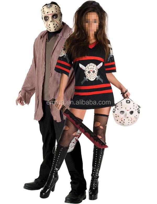 mr ms voorhees halloween costumes combination 2 person costumes cm 1676 buy halloween costumes2 person costumesvoorhees costumes combination product