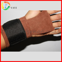 Top Quality Real Cow Leather Gloves For Weight Lifting