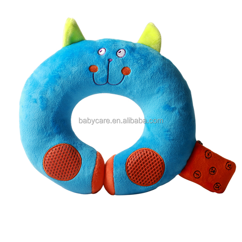 Cute design Bluetooth music u pillow for children