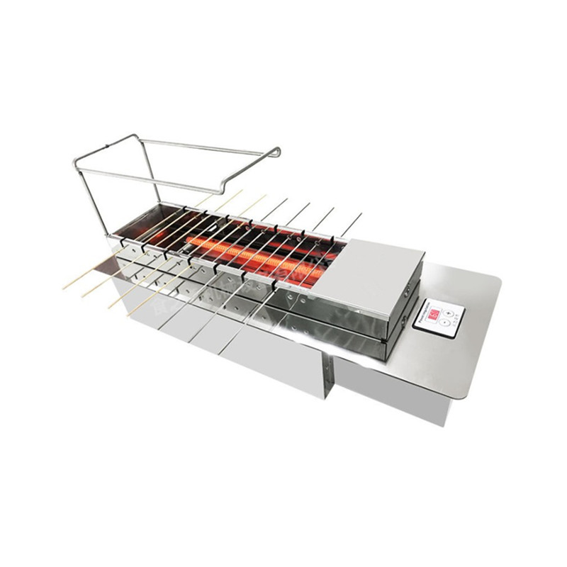 Nieuwe stijl Vis barbecue oven Gas BBQ Grill Vlees spies grill machine