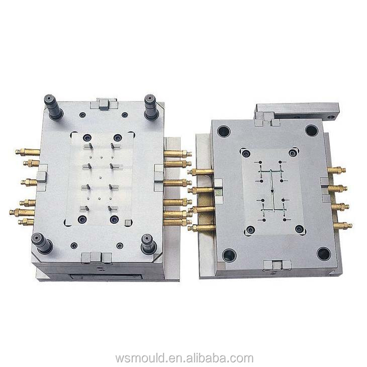 High Precision Custom Plastic Injection Mould high quality PVC plastic mould maker