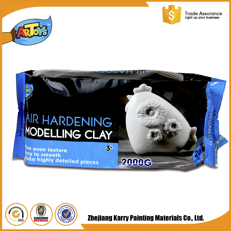 The best choice Kids Art White modeling molding clay