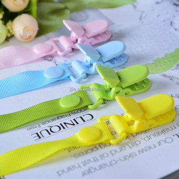 2017 New Fantasty Paicifer leash Baby pacifier clip with holder