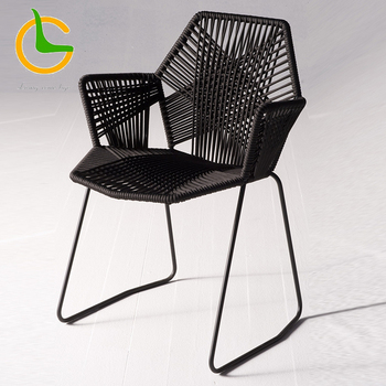 20% discount Italian style modern armrest outdoor dining chair LG-R-131