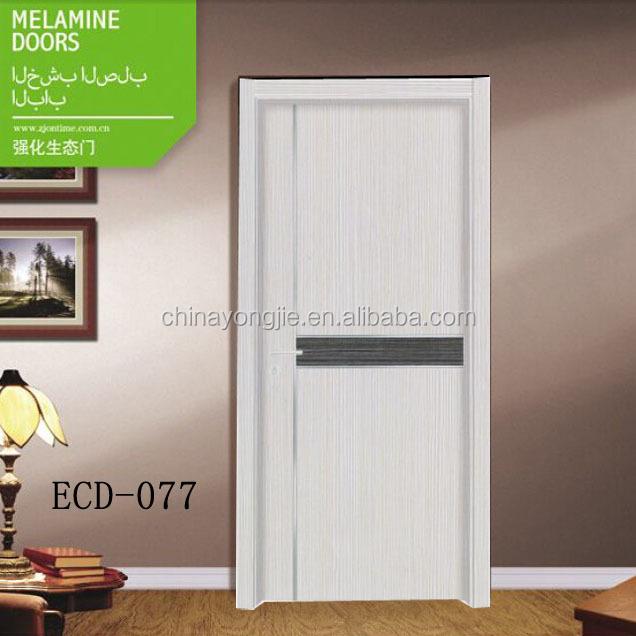 Mélamine porte de la salle modernes modèles de portes en bois ...