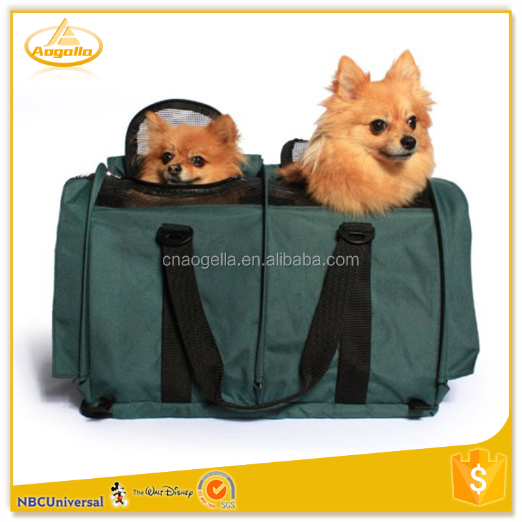 Portable Outdoor Travel Foldable Dog Beds Cave dog Bag Carrier