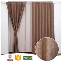 2017 Top 10 High Quality PY1719 Browm Window Curtains Blackout