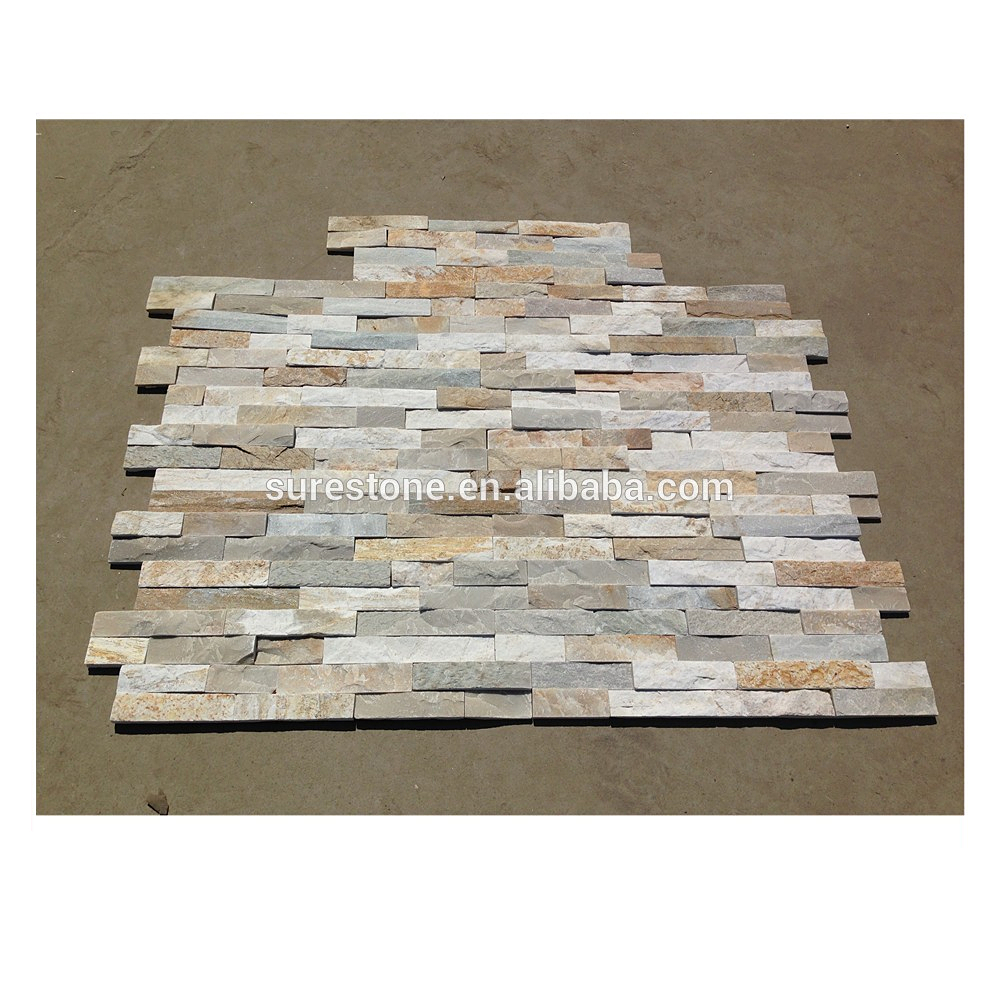 Z Shape Stacked Stone Wall Tiles