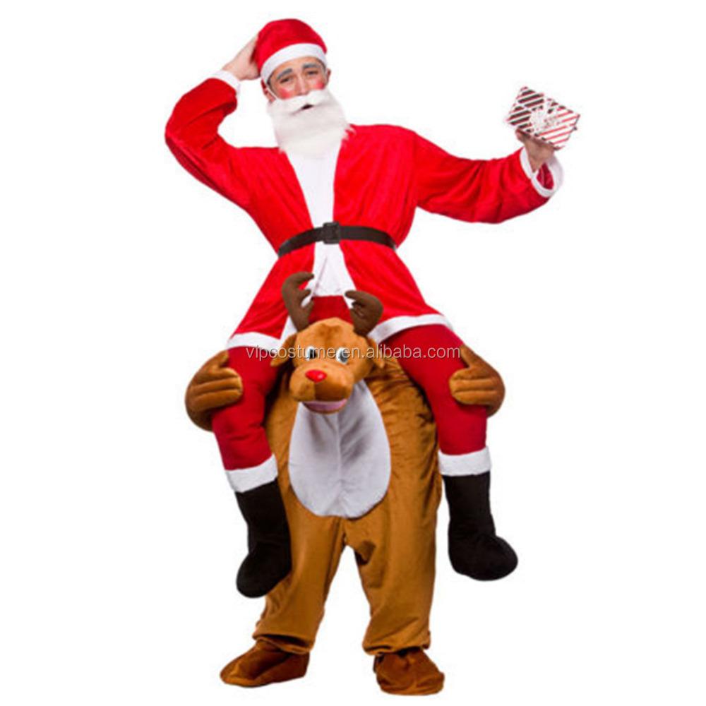 trajes de navidad para adultos llevarme me lleve de renos de navidad fiesta de disfraces adultos
