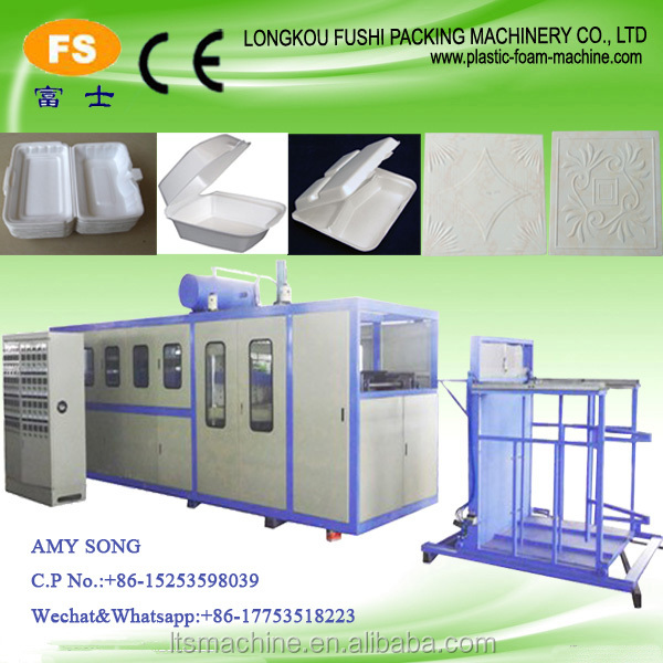 Small Type Polystyrene Foam Box/Plate Mould Forming Machine