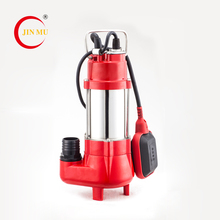 China manufacturer high pressure portable sewage pumps submersible water pump with float switch for sale