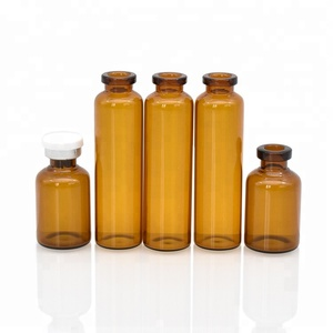 China factory amber Pharmaceutical tubular injection glass vial 5ml 10ml glass bottle