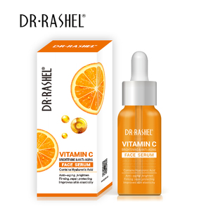 dr.rashel brightening anti aging firming hyaluronic acid makeup primer vitamin c serum for face