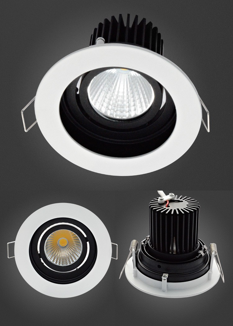 2017 New Design Competieve Price IP22 90Lm / W COB 5W LED Ceiling Light Fitting