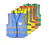 Wholesale cheap hot sales Customized Color Cheap High-Visibility safety Vest/reflection vest for Sale