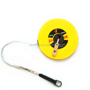 30m100ft Fiberglass Measuring Tape Perfect Surveyors Tape Measure