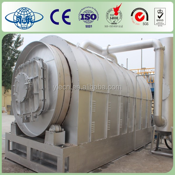 Longest using life good price tire recycling machine