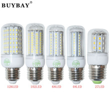 E27 High power 9W 15W 20W 25W 220V/110V SMD2835 led bulb lamp Warm White/ white,27LEDs 48LEDs 68LEDs 102LEDs 2835 Led Corn Bulb