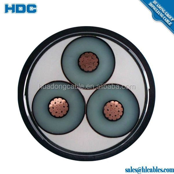 Fire Resistant Armoured Cable 6/10KV 26/35KV XLPE Insulated Cable Manufacturing Companies