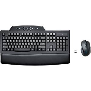 """Kensington Computer Products Group - Kensington Pro Fit Keyboard & Mouse - Usb Wireless Rf Keyboard - Black - Usb Wireless Rf Mouse - 2 Button - Scroll Wheel - Black """"Product Category: Input Devices/Keyboard/Keypad & Pointing Device Kits"""""""