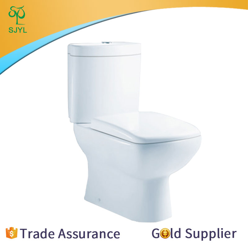 Economic and Efficient gold color toilet in China