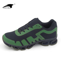 Hot selling new model lace-up sport best mesh running shoes men 2017