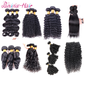 Natural Black Chinese Hair Vendors Cuticle Aligned Raw Virgin Human Hair Extension Wholesale Bundle Brazilian Hair