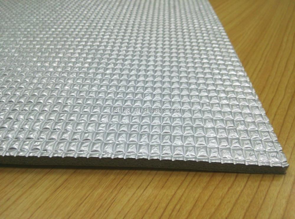 lanbo  adhesive marine heat insulation sound proof rubber foam buy high quality heat