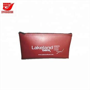Customized Printing Plastic Money Pvc Zipper Bag