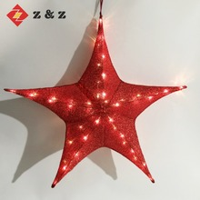 2018 NEW DESIGN FESTIVAL EVENT DECORATION FOLDABLE AND SHINNING STAR