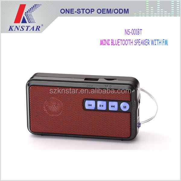 Multifunction mini bluetooth speaker with usb cable