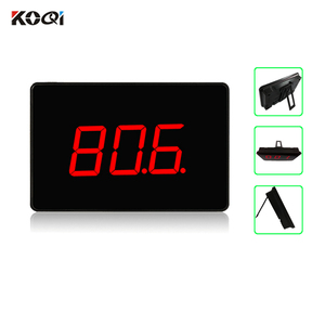 Restaurant Pagers For Sale Receiver With Transmitter Restaurant Paging System 433.92Mhz (1 display+10 call button)