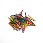 50mm Multi-colored Wooden Match Splints For Kids Arithmetic Early Education