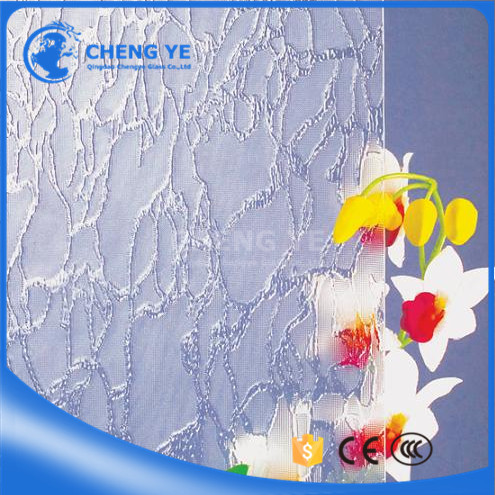 Good Quality Art Building 5mm 6mm Pattern Figured Patterned Glass For Construction